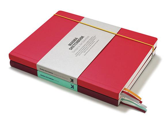 Magma Design Reference Sketchbooks