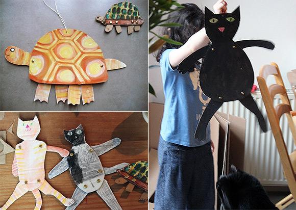 Marionettes via The Art Room Plant