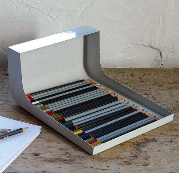 pencil holder / display