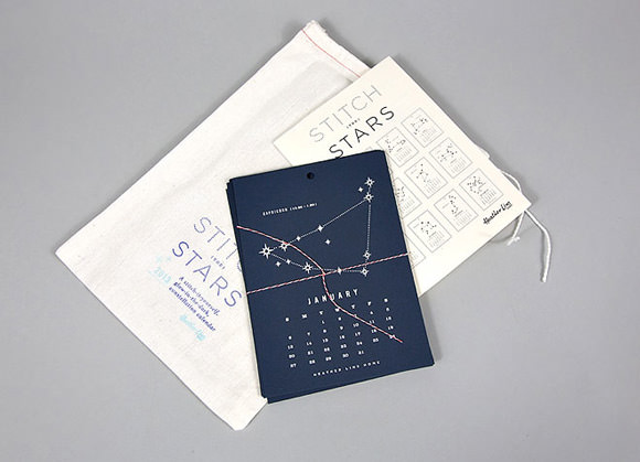 Stitch the Stars 2013 Calendar Kit