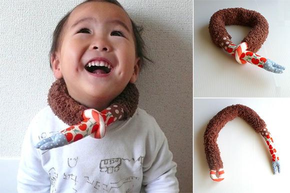 Handmade Scarf for Kids from iichi