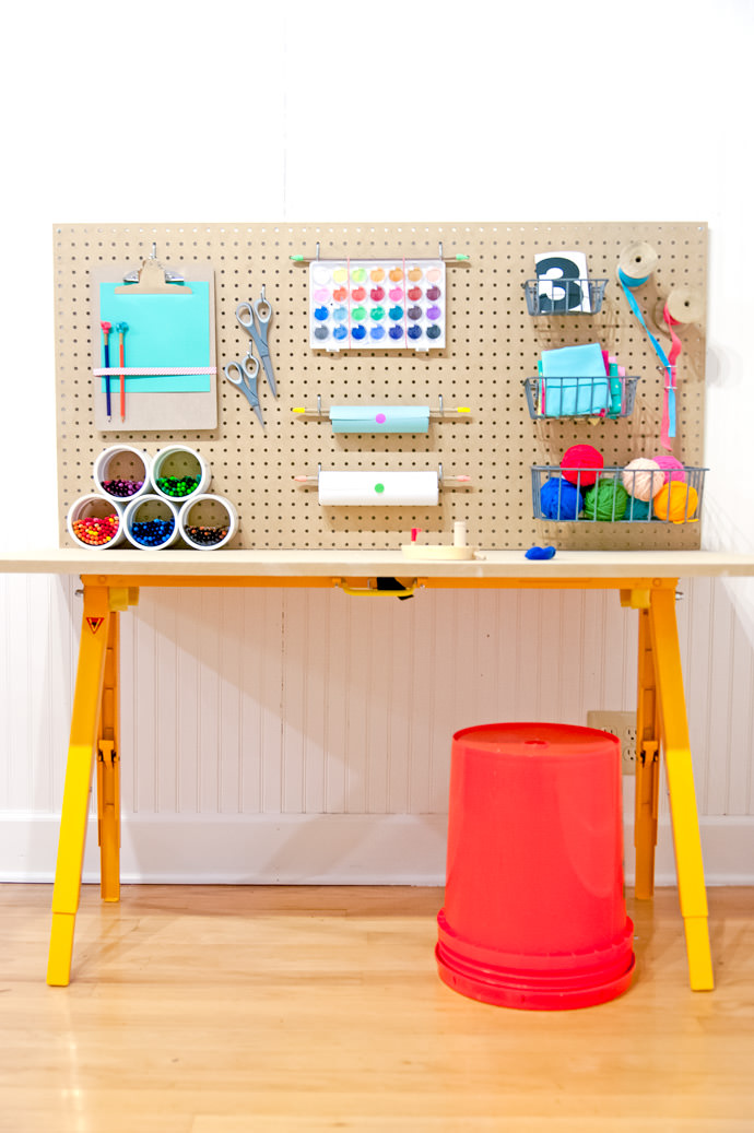 Store All Of Your Kid 39 S Crafts For Under 50 Handmade