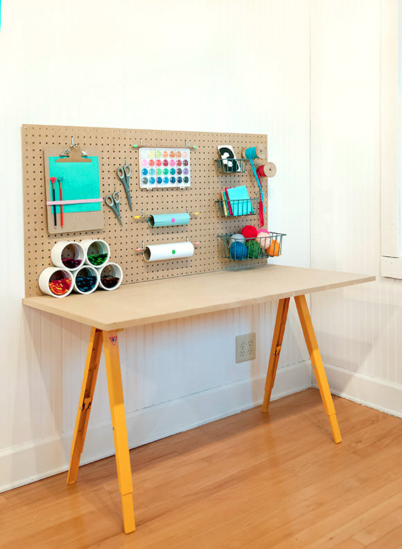 DIY Craft Desk Kids