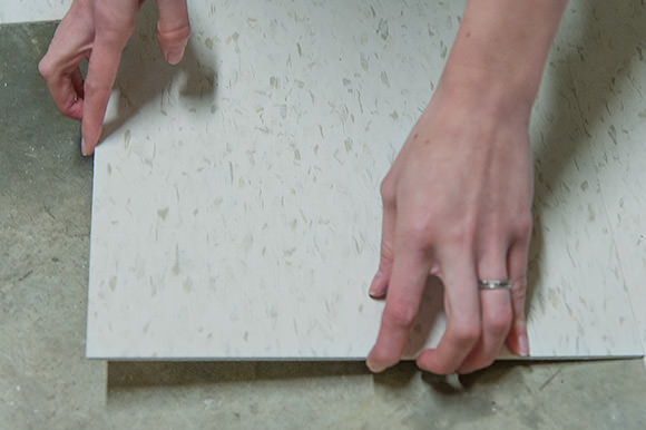 Weekend Project: DIY Tile Flooring