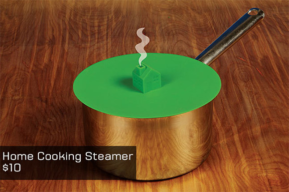 When smoke starts coming out of the chimney, the water is boiling!