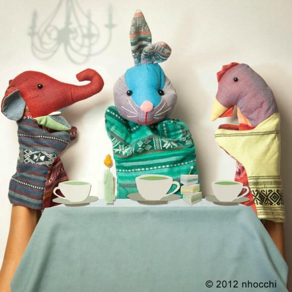 Handmade Puppets by Nhocchi