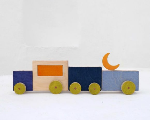 Midnight Caravan, a  wooden toy by The Wandering Workshop on Etsy