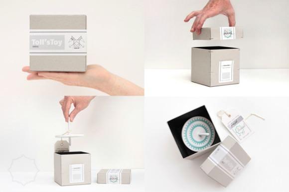 Toy packaging by Drache & Bär