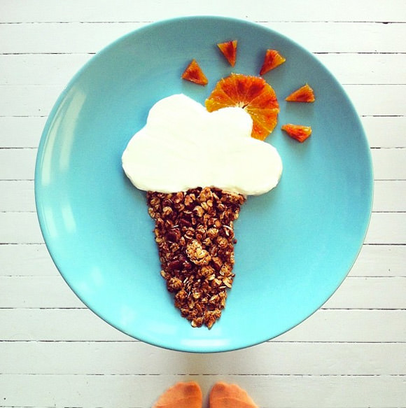 Amazing Instagram Breakfast Art by Idafrosk