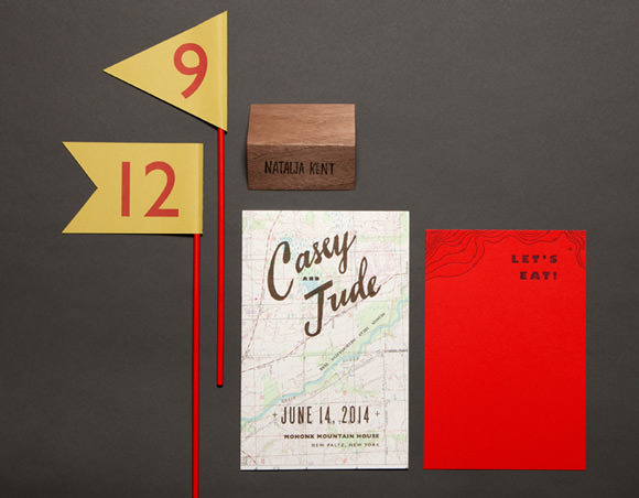 Scout Invitation Kit by Lady Fingers Press