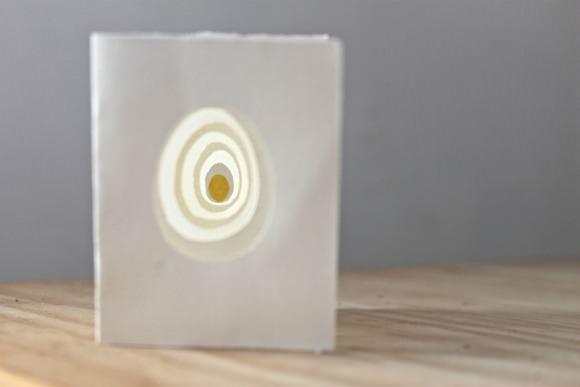 Handmade Egg Book by Justine Hand, Designskool