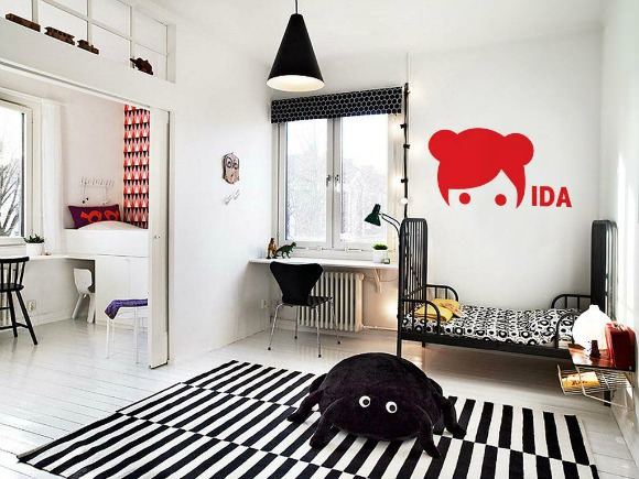 Spectacular Lars and Ida Wall Stickers available for from as sweet as cotton candy