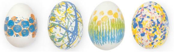 Finger Print Eggs by KoKoKo Kids