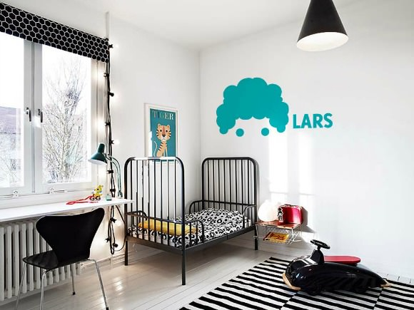 Great Lars and Ida Wall Stickers available for from as sweet as cotton candy