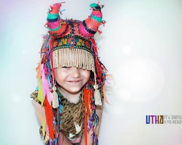 bd8ba548e04 Little UTAH Shaman Headpiece from UTAH hats on Etsy