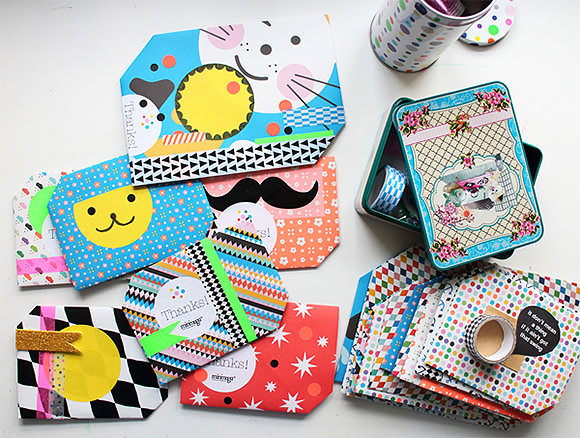 DIY Envelopes - The envelope is the letter, simply fold and send!