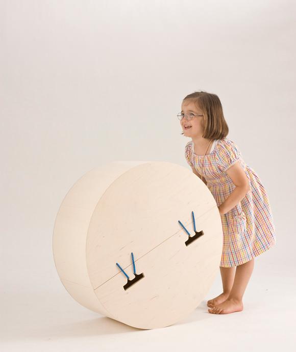Fun storage for kids' rooms - rocking toy box