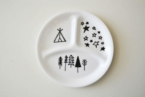 Camping Plate for Kids from Urban Nester