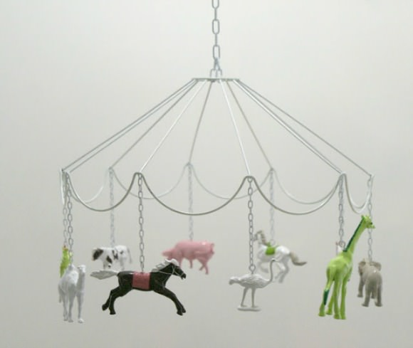 Lovely Handmade Mobile for A Child's Room