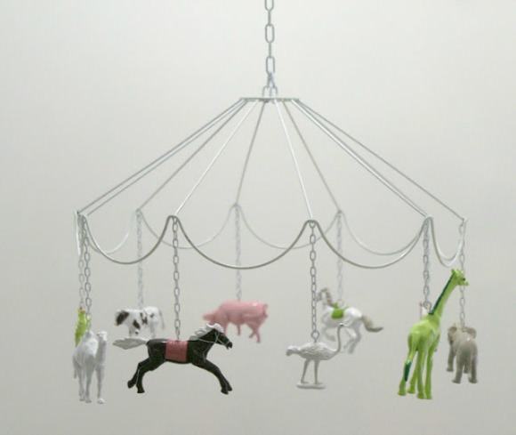 Lovely Handmade Mobile for A Child's Room
