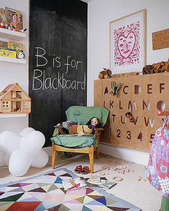 Chalkboard Wall In Kids Rooms Chalkboard Wall In Kids Rooms