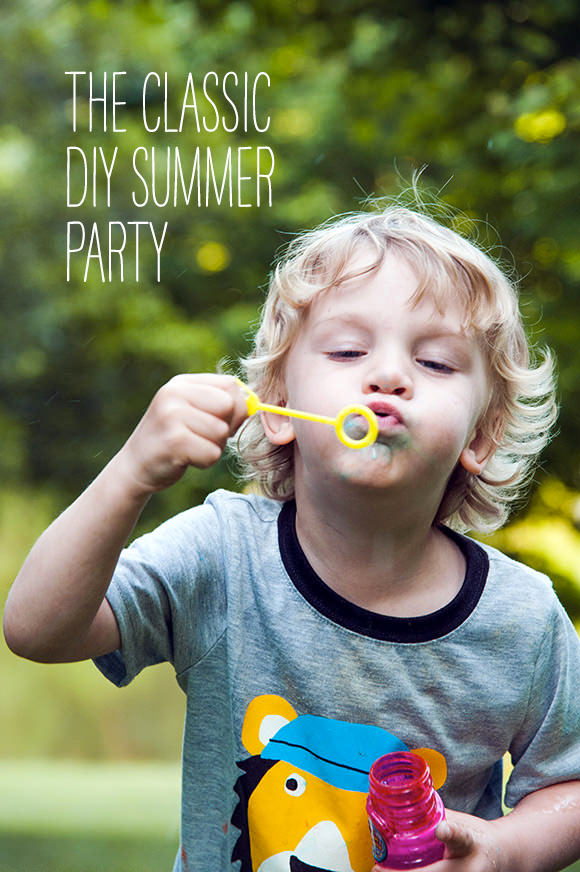 The Classic DIY Summer Party - projects & recipes