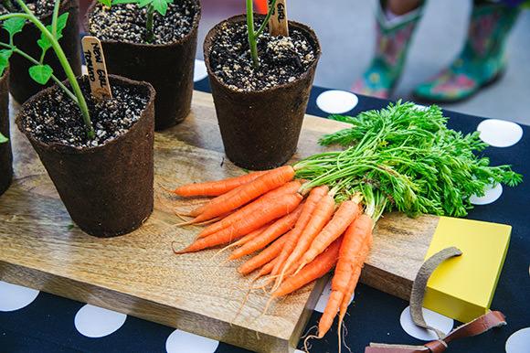 Summer Party Essentials: Fresh Garden Veggie Platter