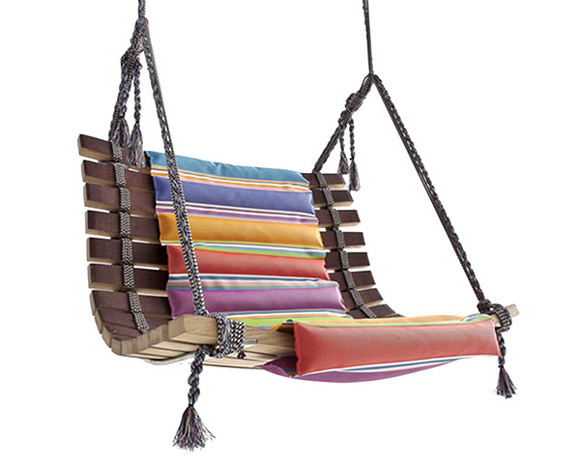 Swing Chair by Angela Missoni