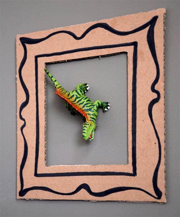 DIY Dinosaur Frames for Kids ⋆ Handmade Charlotte