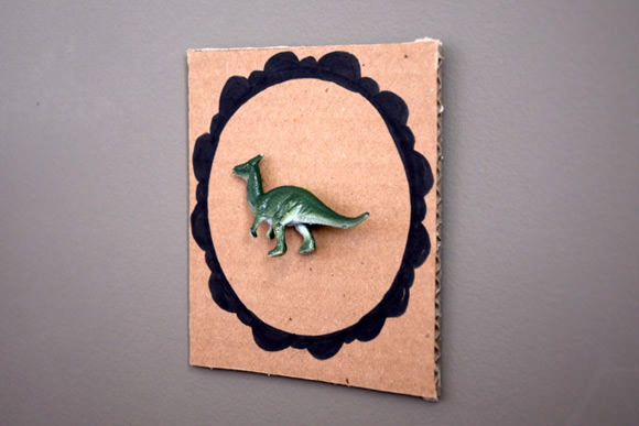 DIY Dino Frames for Kids