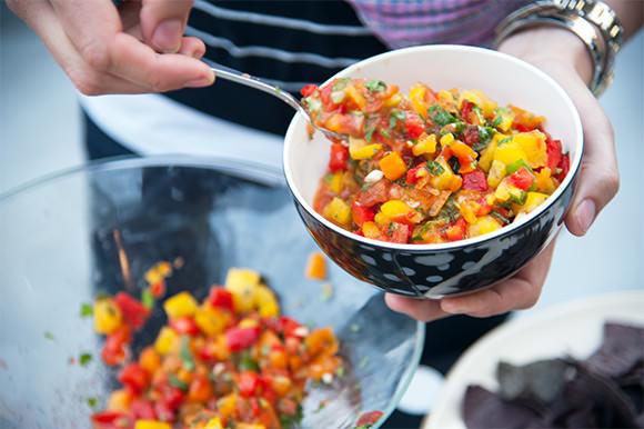 Sweet Pepper Salsa Recipe