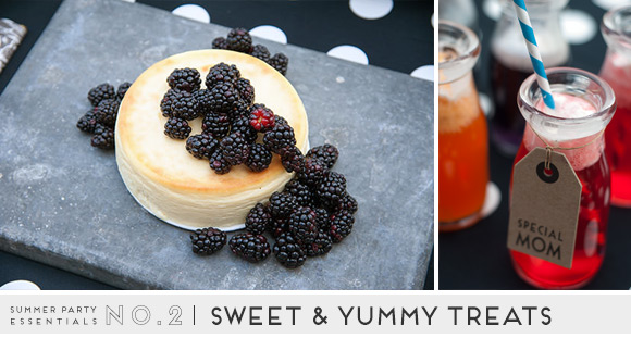 Summer Party Essentials: Sweet & Yummy Treats