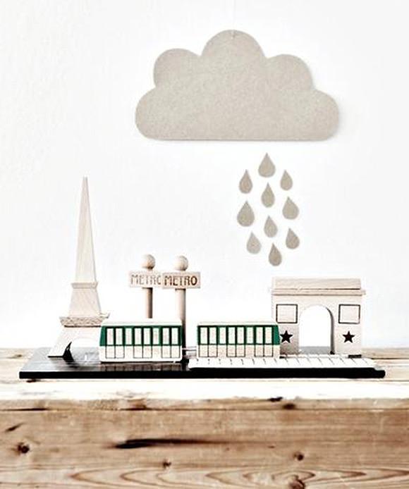 Paris Toy Set from Mokkasin