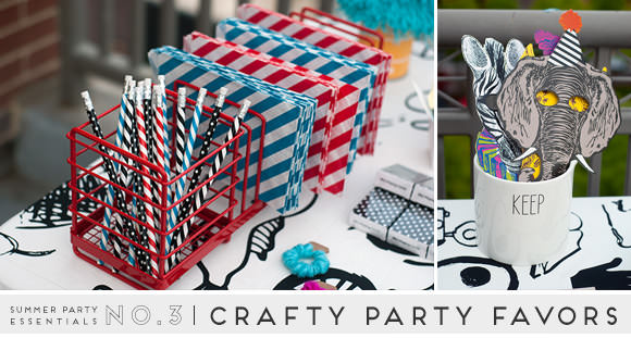Summer Party Essentials: Crafty Party Favors