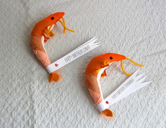 Etsy Finds: Patchwork Birthday Shrimp