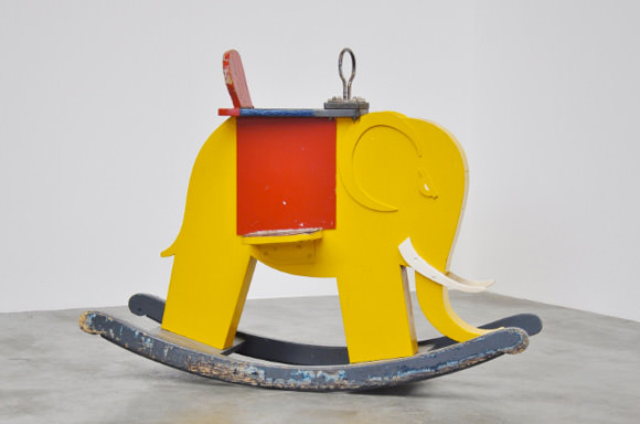Vintage Playthings: De Stijl Elephant Rocker