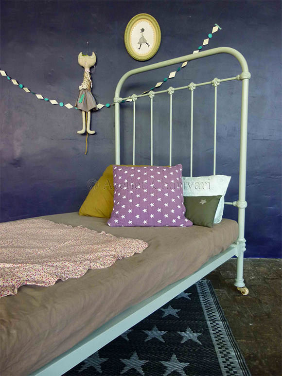 Unique French Vintage for Kids u Rooms Antique Iron Bed