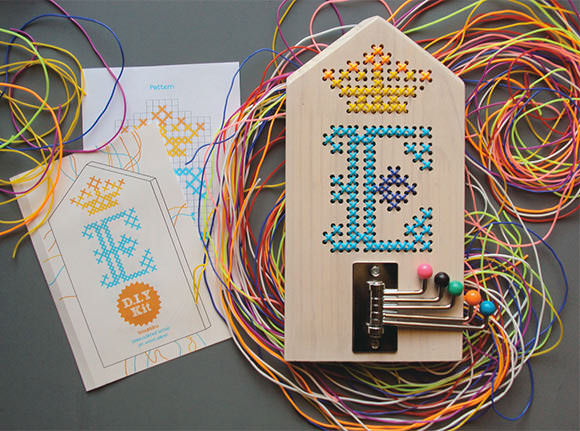 Etsy Finds DIY Embroidery On Wood Kit For Kids