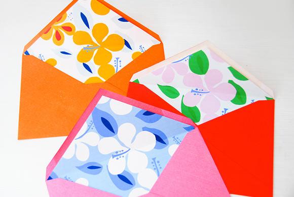 DIY imprimir Summertime Liners Envelope