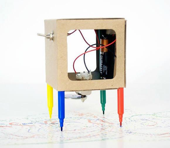 Etsy Finds: Scribbler, DIY Drawing Robot for Kids