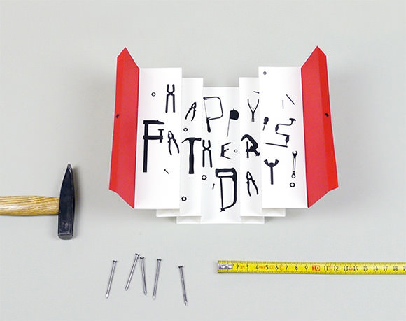 DIY Printable 3D Tool Box Card for Father's Day by Mr Printables