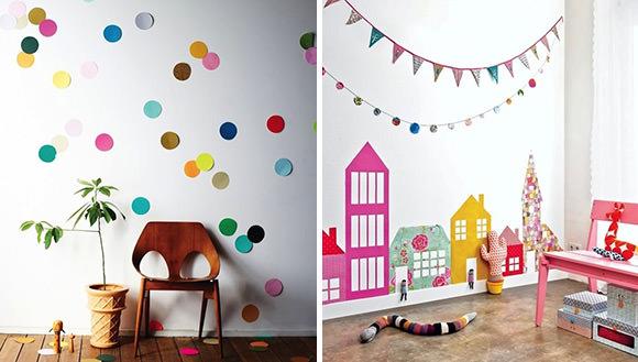 DIY Wallpaper Ideas for Kids' Rooms
