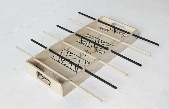Tabletop Foosball by Fredericks & Mae