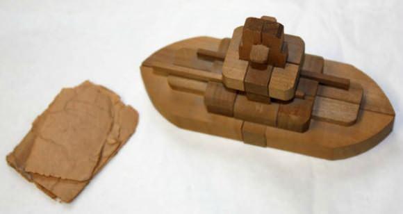 Etsy Finds: Vintage Wooden Ship Puzzle