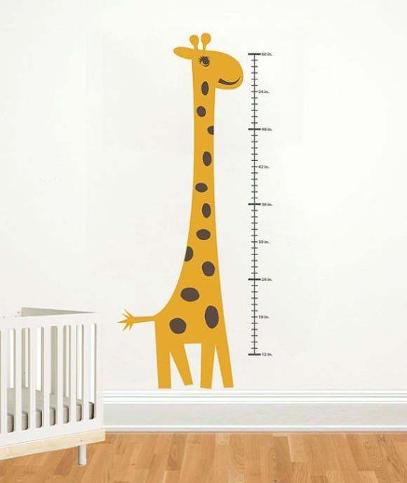 Eat your veggies growth charts handmade charlotte for Growth chart for kids room