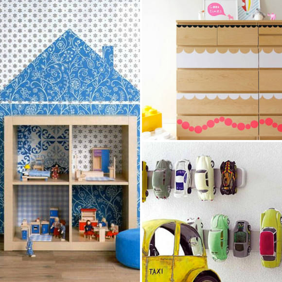 Ikea Kids Room Inspiration: Best DIY IKEA Hacks For Kids' Rooms ⋆ Handmade Charlotte