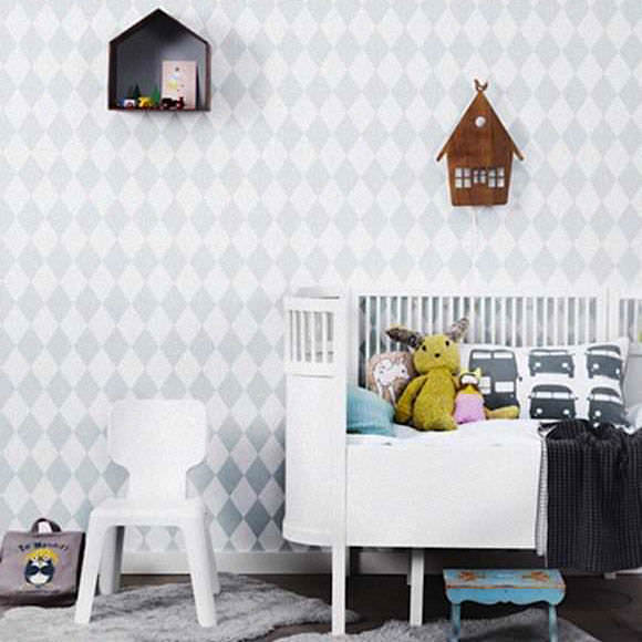 Wallpaper for Kids' Rooms via Ferm Living