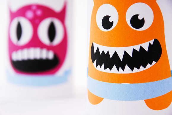Monster Tin Can Place Card Printables