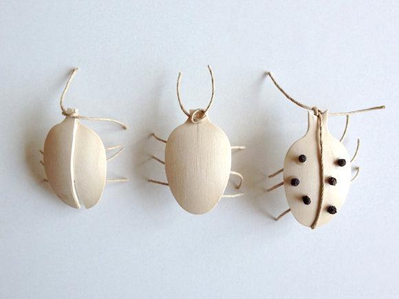 DIY Wooden Spoon Ladybugs for Kids
