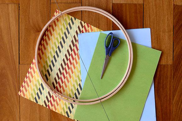 DIY Embroidery Hoop Mobile Tutorial: Supplies